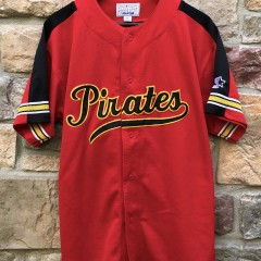 Vintage 90's Pittsburgh Pirates Starter MLB Jersey size medium
