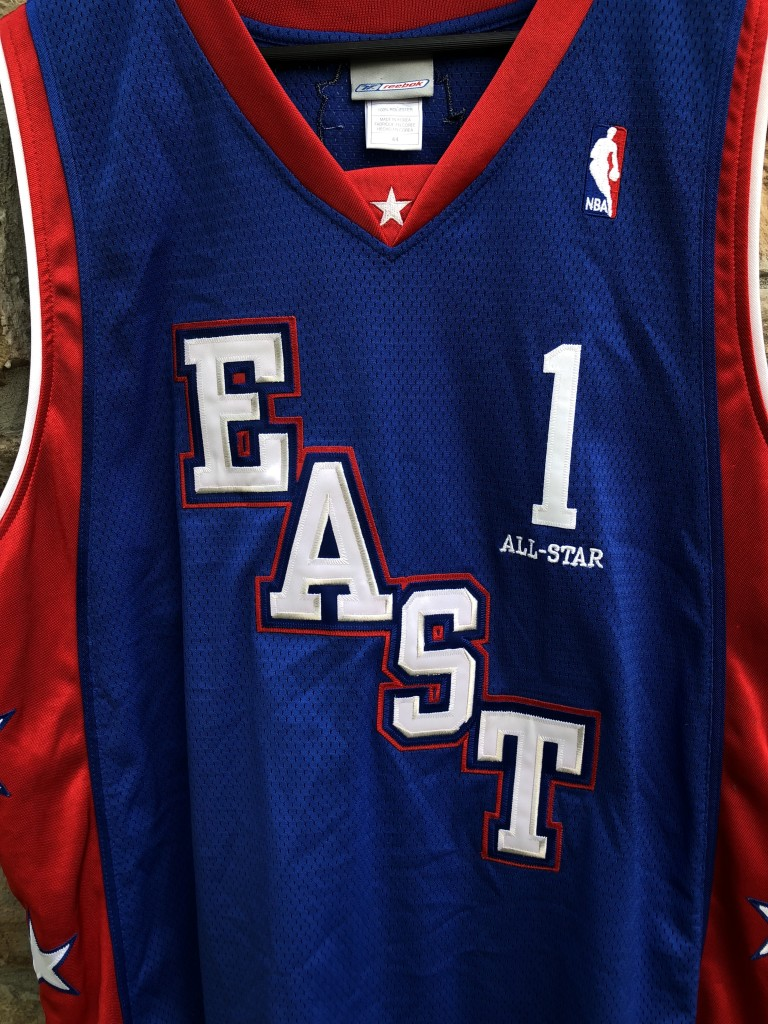 43351ca845a vintage 2004 Eastern Conference All Star Jersey Tracy Mcgrady authentic  reebok size 44 large