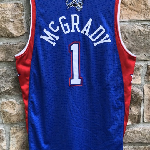 vintage 2004 Eastern Conference All Star Jersey Tracy Mcgrady authentic reebok size 44 large
