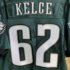 2012 Jason Kelce Philadelphia Eagles Nike authentic NFL jersey size 48 XL