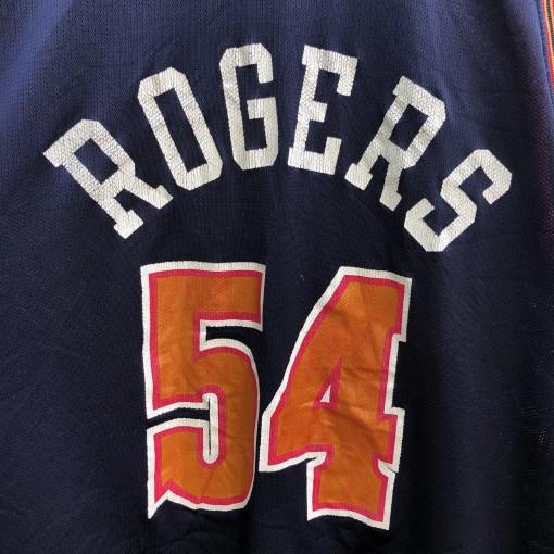 vintage 90's Rodney Rogers Denver Nuggets Champion NBA jersey size 48