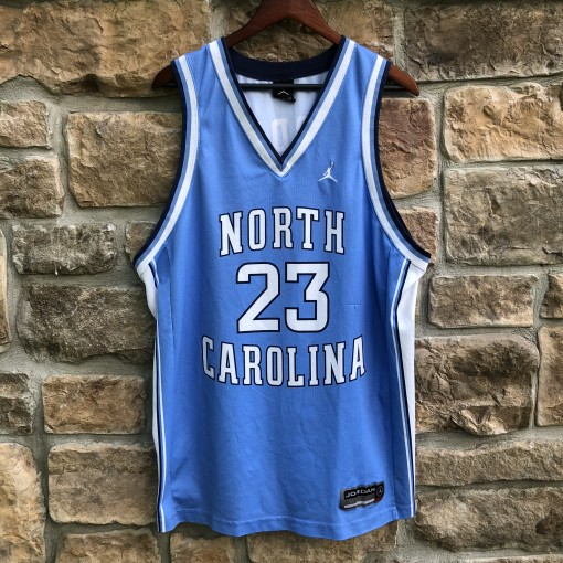 00's retro Michael Jordan UNC North Carolina Tar Heels NCAA jersey