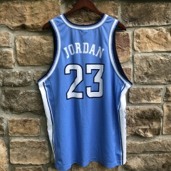 00's retro Michael Jordan UNC North Carolina Tar Heels NCAA jersey