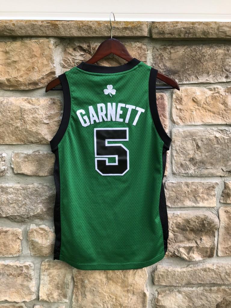 save off fd1d1 d8e04 2008 Kevin Garnett Boston Celtics Alternate Adidas NBA Jersey Youth Medium