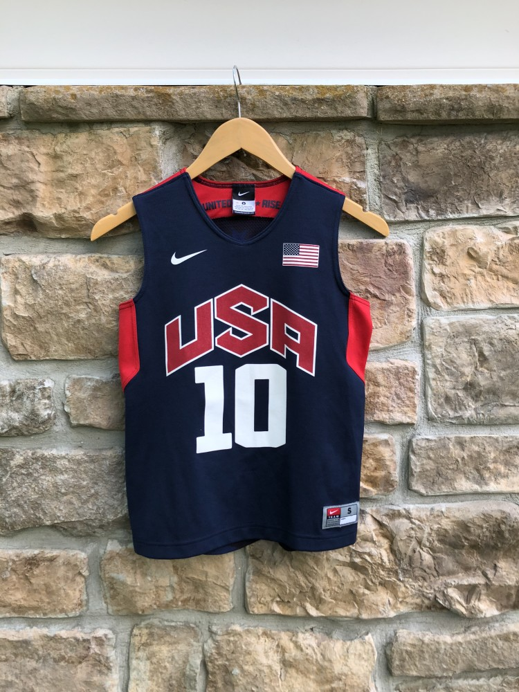4c3e38bcc ... release date 2012 kobe bryant team usa nike olympic basketball jersey  youth size small 9bafe 89828