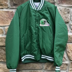 vintage 90's Philadelphia Eagles Chalkline satin nfl jacket size large
