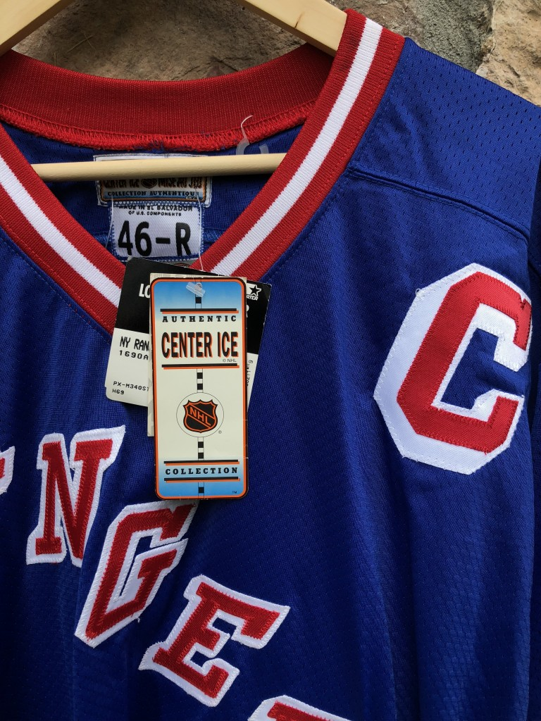 vintage 90 s New York Rangers Mark Messier Starter Authentic NHL Jersey size  46 Large 2653d1f4c