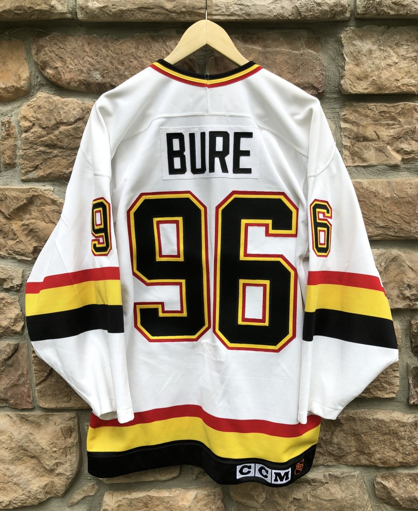 buy online 92fc1 7ee26 1995 Pavel Bure Vancouver Canucks Authentic CCM NHL Jersey Size 44