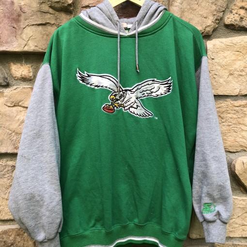 vintage 90's Philadelphia Eagles Starter NFL sweatshirt hoody size large