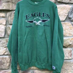 90's Logo Athletic Philadelphia Eagles NFL crewneck sweatshirt size XL