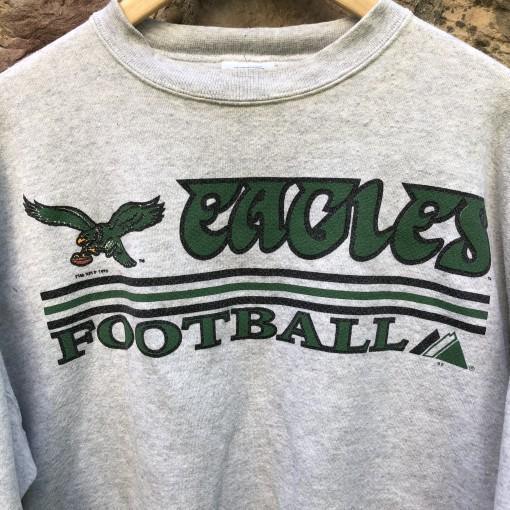 vintage 90's 1994 Philadelphia eagles majestic NFL crewneck sweatshirt size xl
