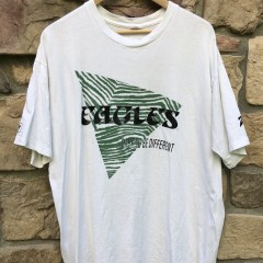 vintage 90's Philadelphia Eagles Zubaz dare to be different nfl t shirt size xl