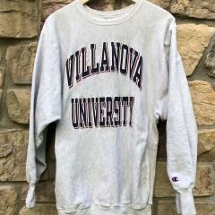 vintage 90's Villanova University wildcats champion reverse weave crewneck sweatshirt size XXL XL
