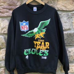 vintage 90's Philadelphia Eagles year of the eagles crew neck sweatshirt size XL