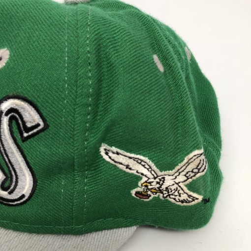 vintage 90's Philadelphia Eagles graffiti snapback hat