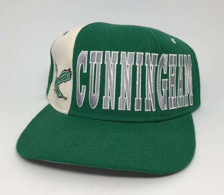 7bd1980a84174 Vintage 90 s Philadelphia Eagles Randall Cunningham Starter Tri Power NFL snapback  hat