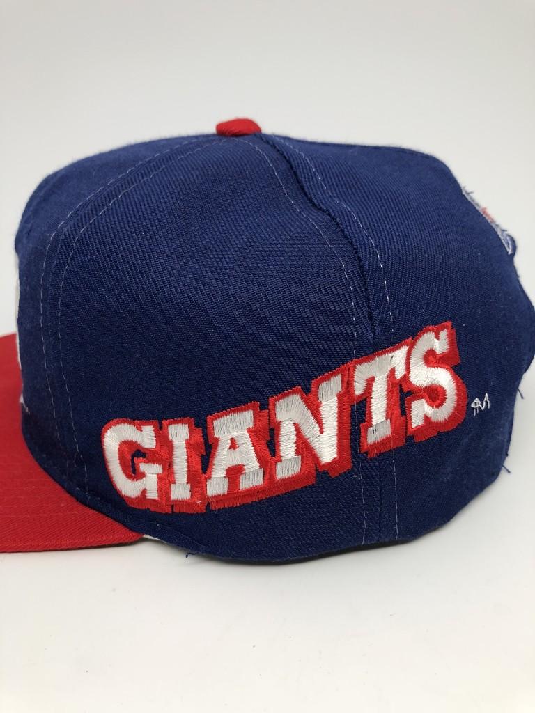 8cba41ad 90's New York Giants Sports Specialties Pro Line NFL Snapback Hat