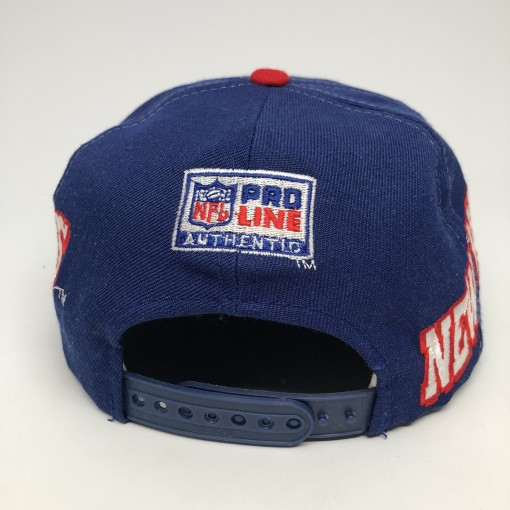 vintage 90's Sports Specialties New York Giants Pro Line NFL Snapback hat
