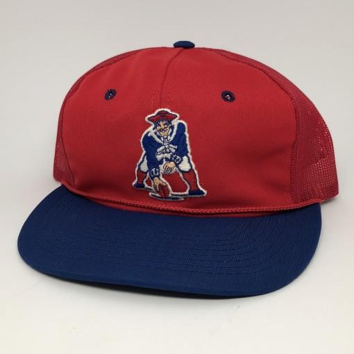 vintage 80's New England Patriots Patriots Sports Specialties trucker hat mesh