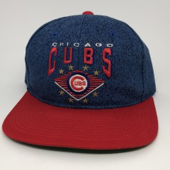 vintage 90's Chicago Cubs Starter Denim MLB snapback hat