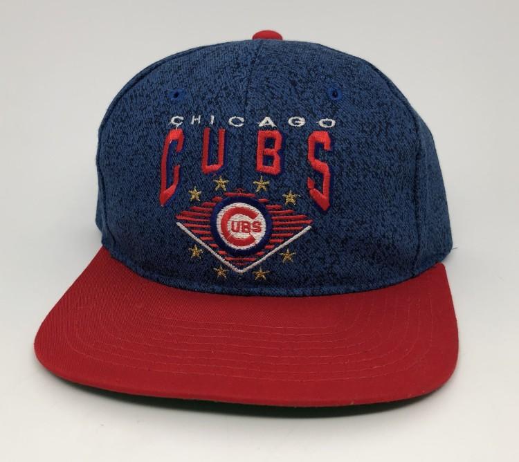 7bf2bf0fec2 vintage 90 s Chicago Cubs Starter Denim MLB snapback hat