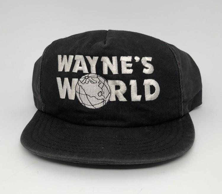 f8c2cbbccdca0 vintage OG 1991 Wayne s World Snapback hat SNL