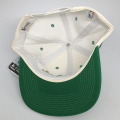 vintage 90's Boston Celtics Sports Specialties script snapback hat NBA deadstock