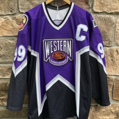 Vintage 1996 Western Conference Wayne Gretzky LA Kings All Star Jersey CCM Size Medium