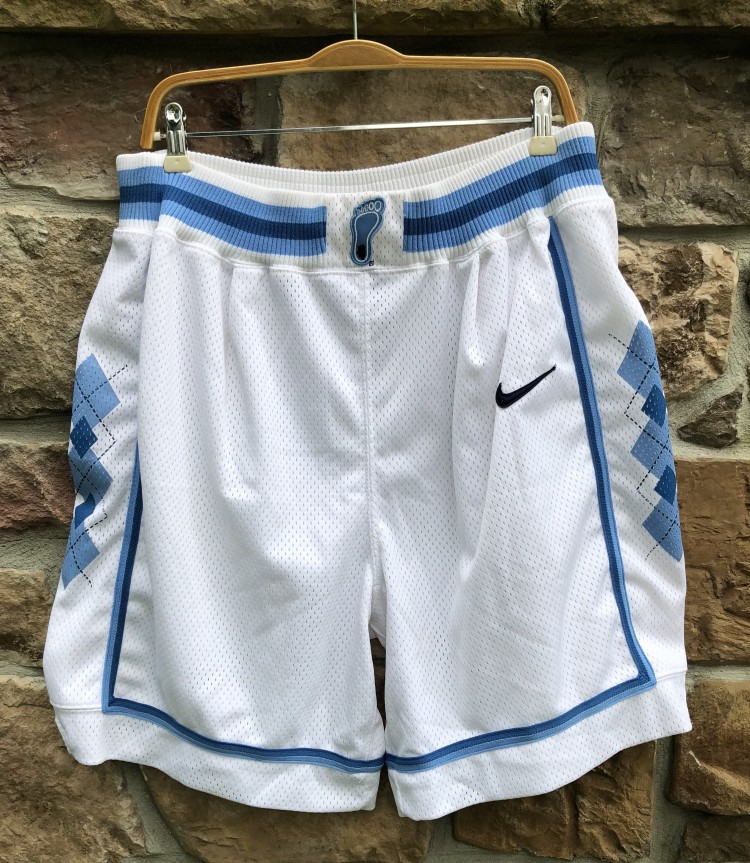 88292436d15 Vintage 90's UNC university of north carolina tar heels authentic nike NCAA  Shorts size large