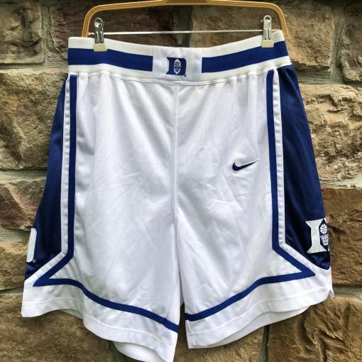 vintage early 90's Duke university blue devils authentic Nike NCAA shorts size large 36