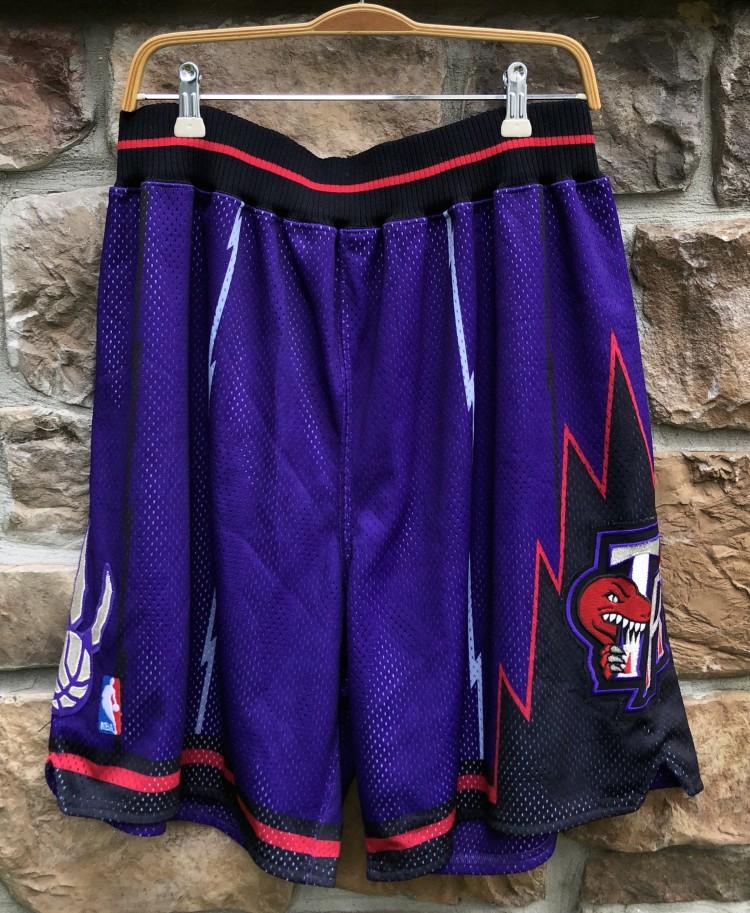 cheaper 02106 5b3a5 90's Toronto Raptors Nike Authentic NBA Shorts
