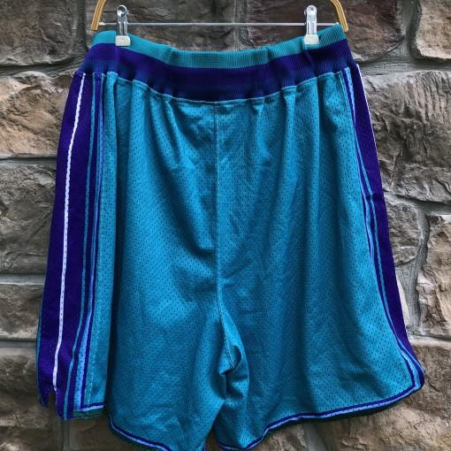 vintage 90's Charlotte hornets Starter authentic NBA Shorts size XXL