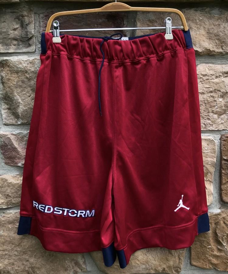9f5ac216c5d7cd 90's St. John's Red Storm Authentic Jordan NCAA Shorts   Rare Vntg