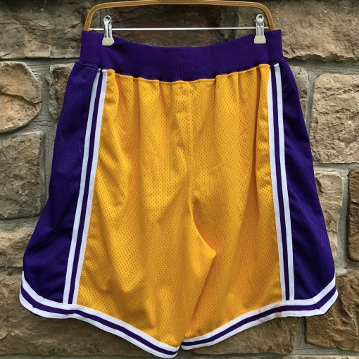 Vintage 90's Los Angeles Lakers authentic Nike shorts size 38