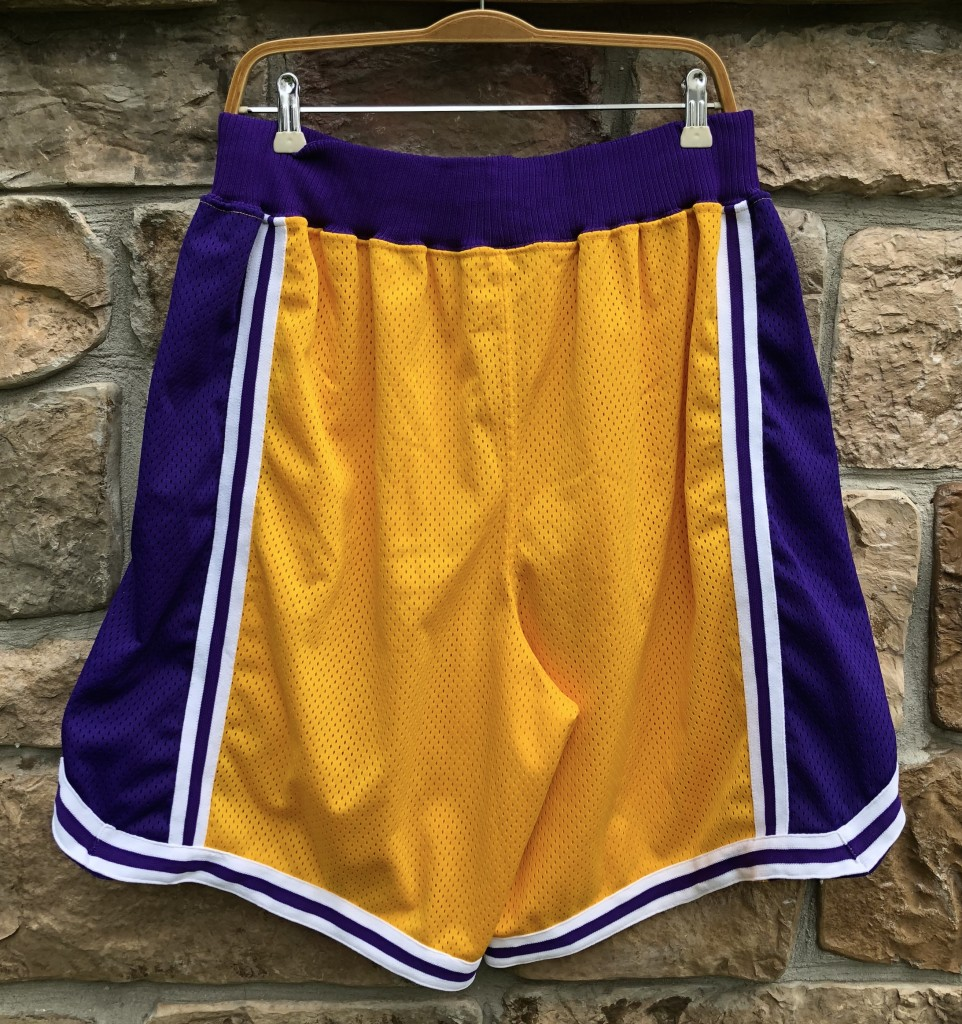 c0677ad683d9 Vintage 90 s Los Angeles Lakers authentic Nike shorts size 38