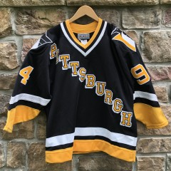 vintage 90's Pittsburgh Penguins Authentic CCM Gin and juice snoop dogg jersey size 44 large