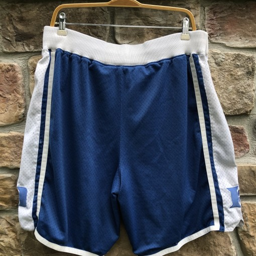 vintage Nike Duke Blue Devils Swingman NCAA shorts size Medium 80's retro