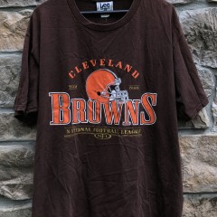 vintage 1999 90's Cleveland Browns Lee NFL T Shirt size XL