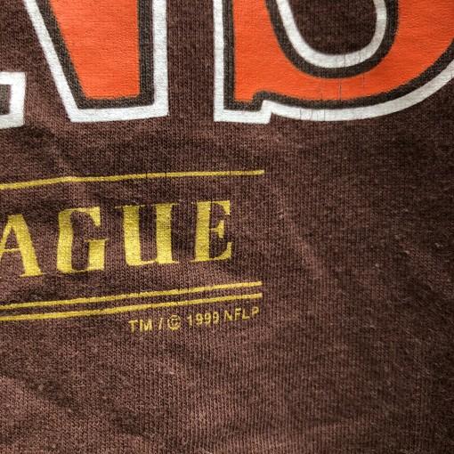 vintage 1999 90's Cleveland Browns Lee NFL T Shirt size XL