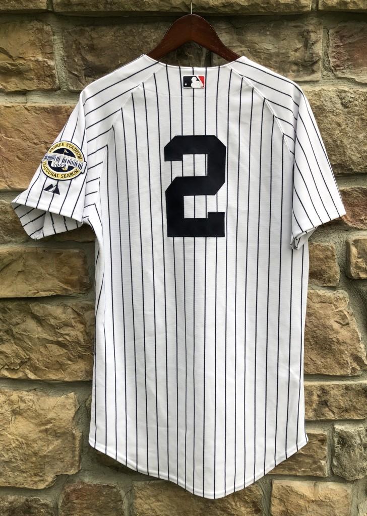 brand new dd173 7c065 2009 Derek Jeter New York Yankees Authentic Majestic MLB Jersey Size 40