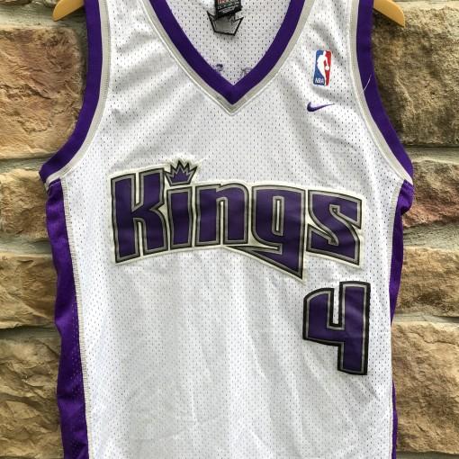 vintage 00's Chris Webber Sacramento Kings Nike swingman jersey size small