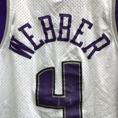 vintage 00's Chris Webber Sacramento Kings Nike swingman jersey size small