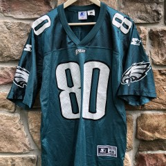 1995 Irving Fryer Philadelphia Eagles Starter NFL jersey size large