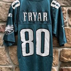 1995 Irving Fryer Philadelphia Eagles Starter NFL jersey size large