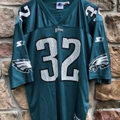 1995 Philadelphia Eagles vintage Ricky Watters Starter NFL jersey size Large