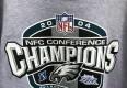 2004 vintage philadelphia Eagles NFC conference champions NFL crewneck sweatshirt size XL