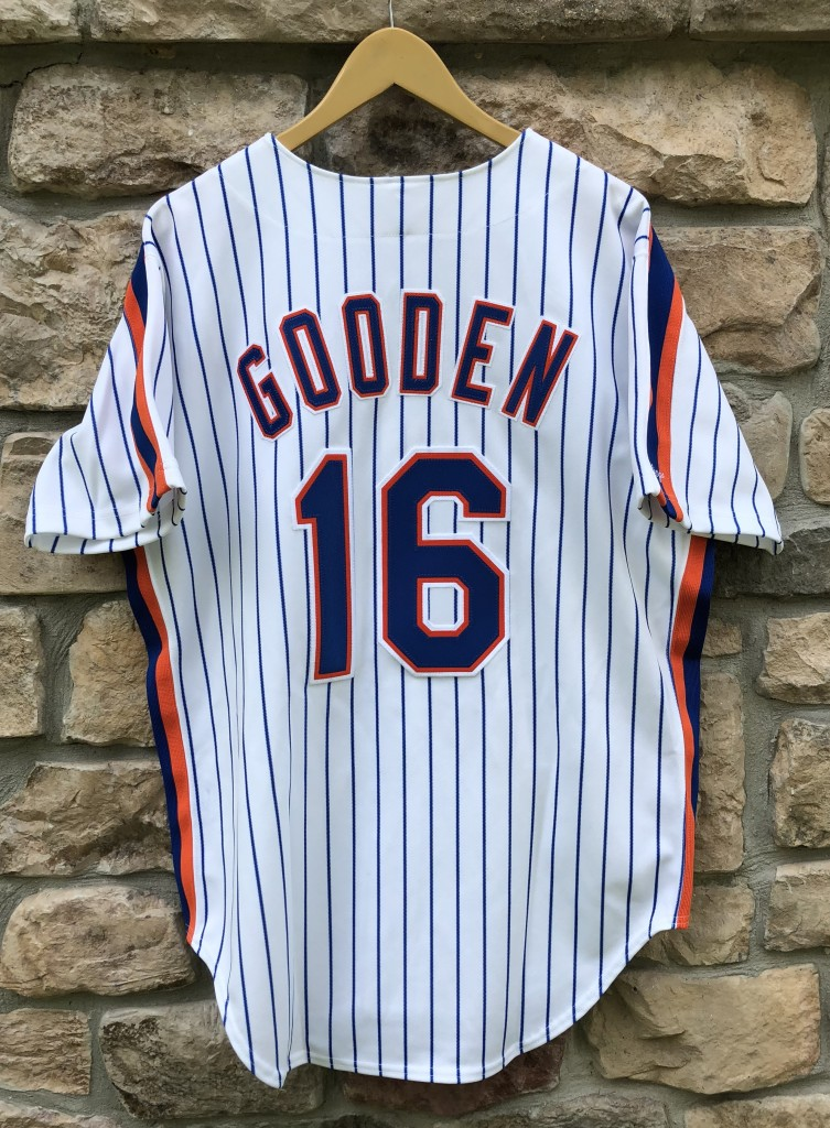 70e4089d5 vintage 1991 Dwight Doc Gooden New York Mets Authentic Rawlings MLB jersey  size 44 large deadstock