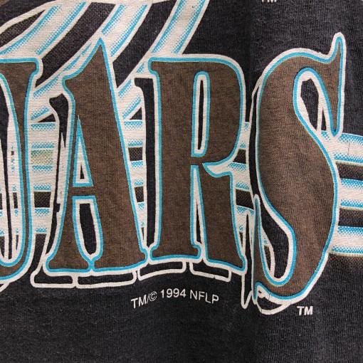 vintage 1994 Jacksonville Jaguars banned logo NFL t shirt size large