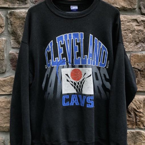 vintage 90's Cleveland Cavaliers Champion NBA crewneck sweatshirt size XL