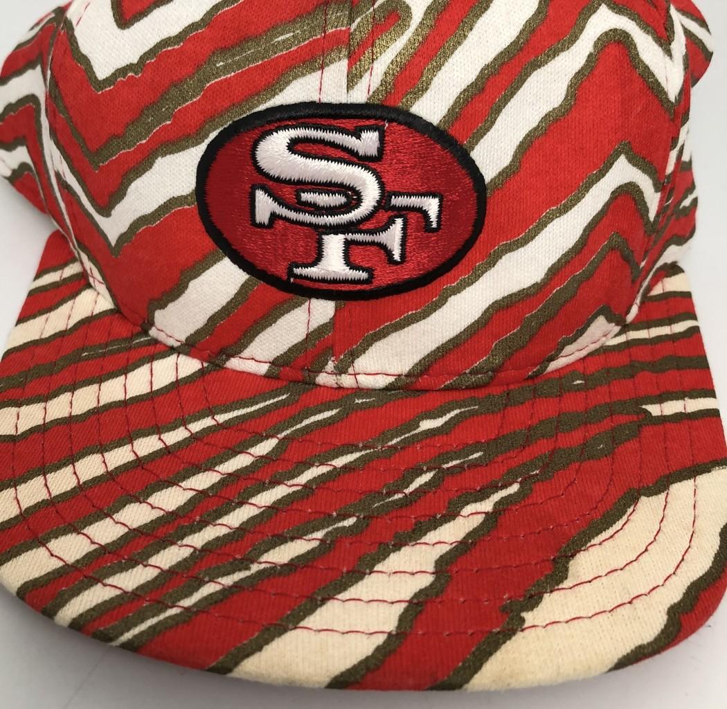 484a79c16d4 vintage 90 s San Francisco 49ers Zubaz NFL Snapback hat OG